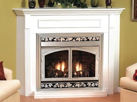 White Mountain Hearth - White finish