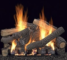 White Mountain Hearth log set - Pioneer